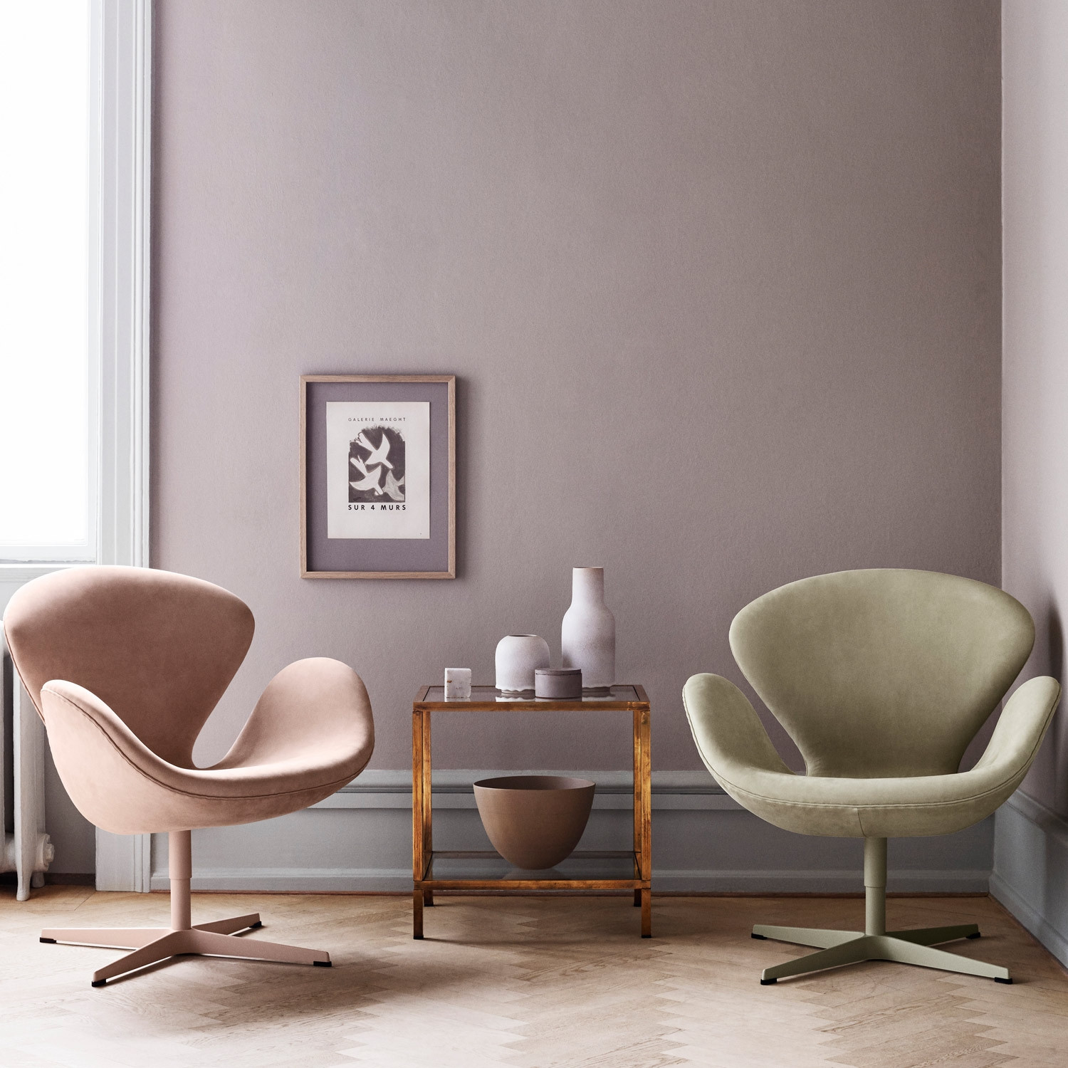 Swan Easy Chairs
