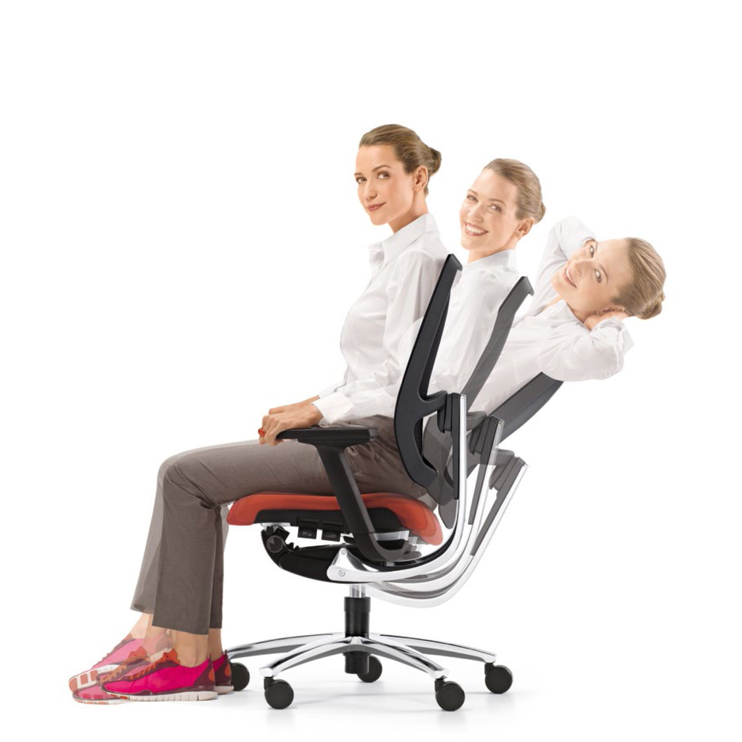 Swing Up Office Chair