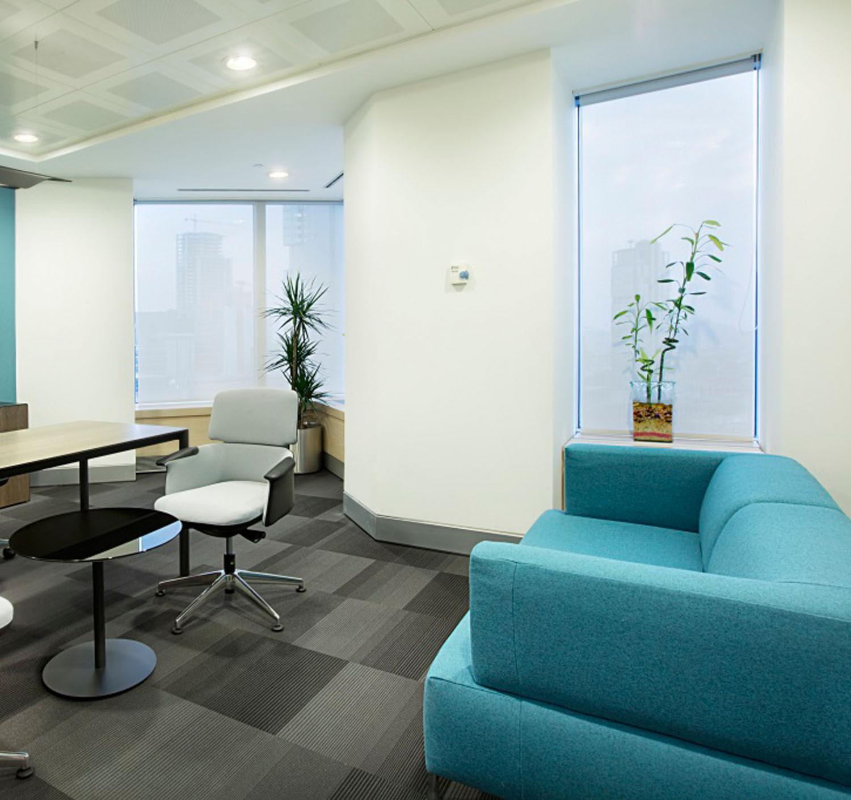 Tellasmar Sofa for Office Breakout Areas