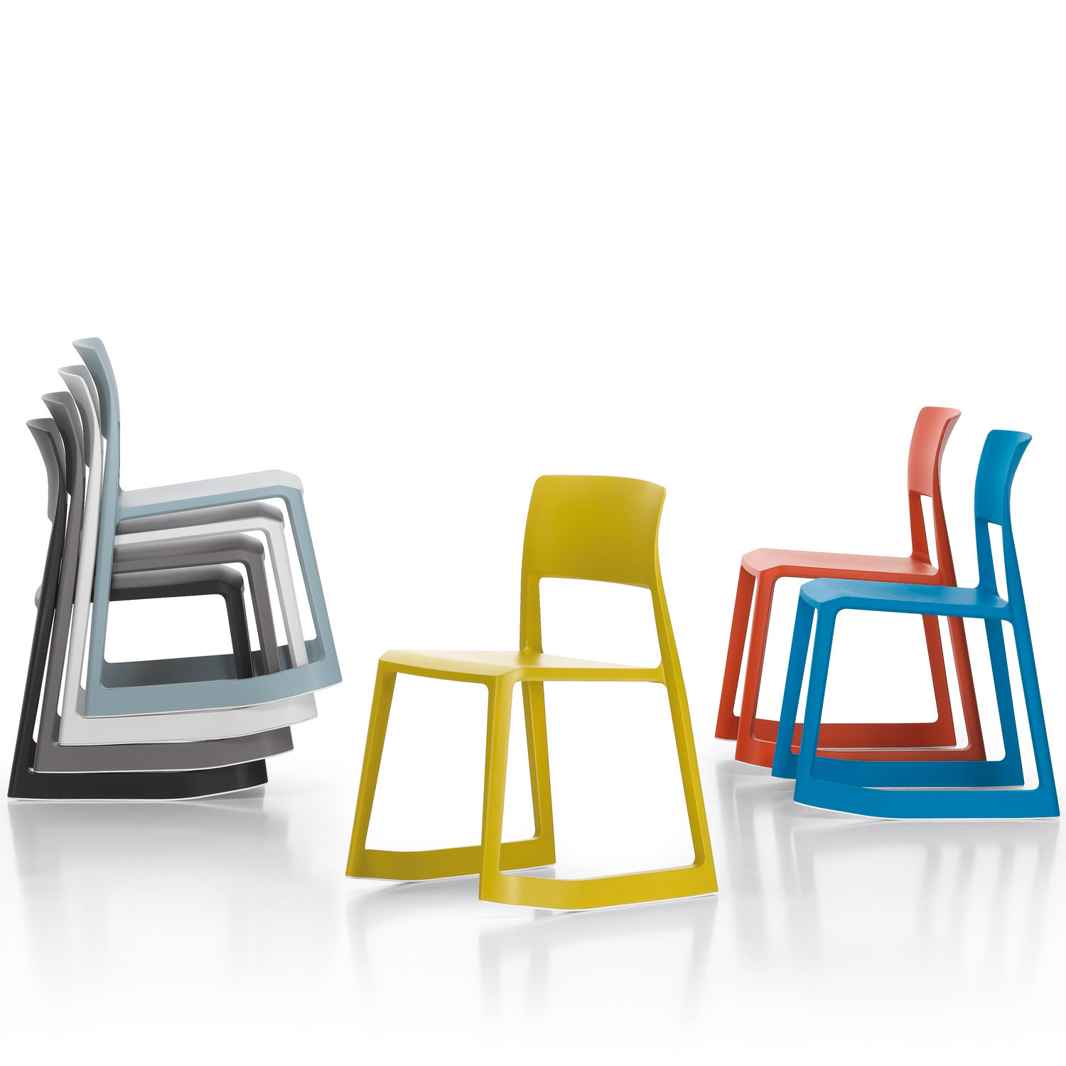 vitra tip ton chairs stackable training chairs apres. Black Bedroom Furniture Sets. Home Design Ideas