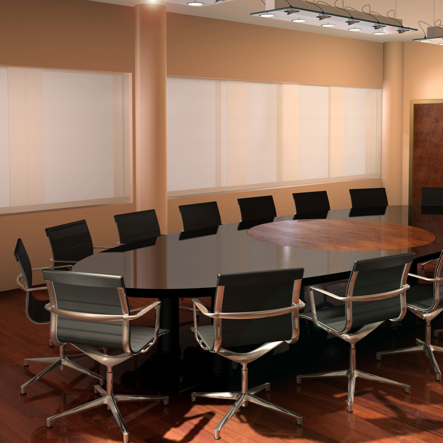 Una Meeting Chairs By ICF Spa