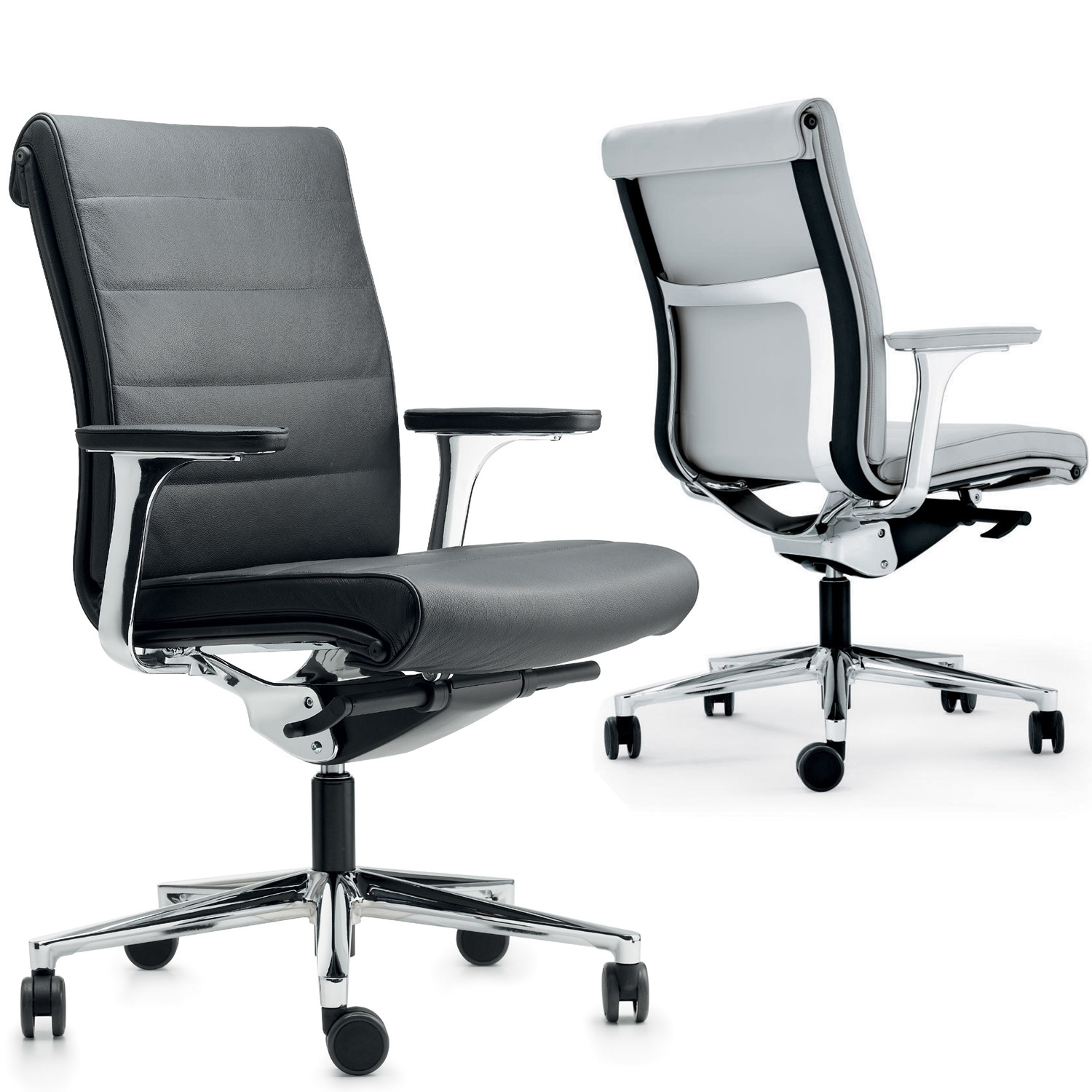 Una Plus Executive Chairs by ICF Spa