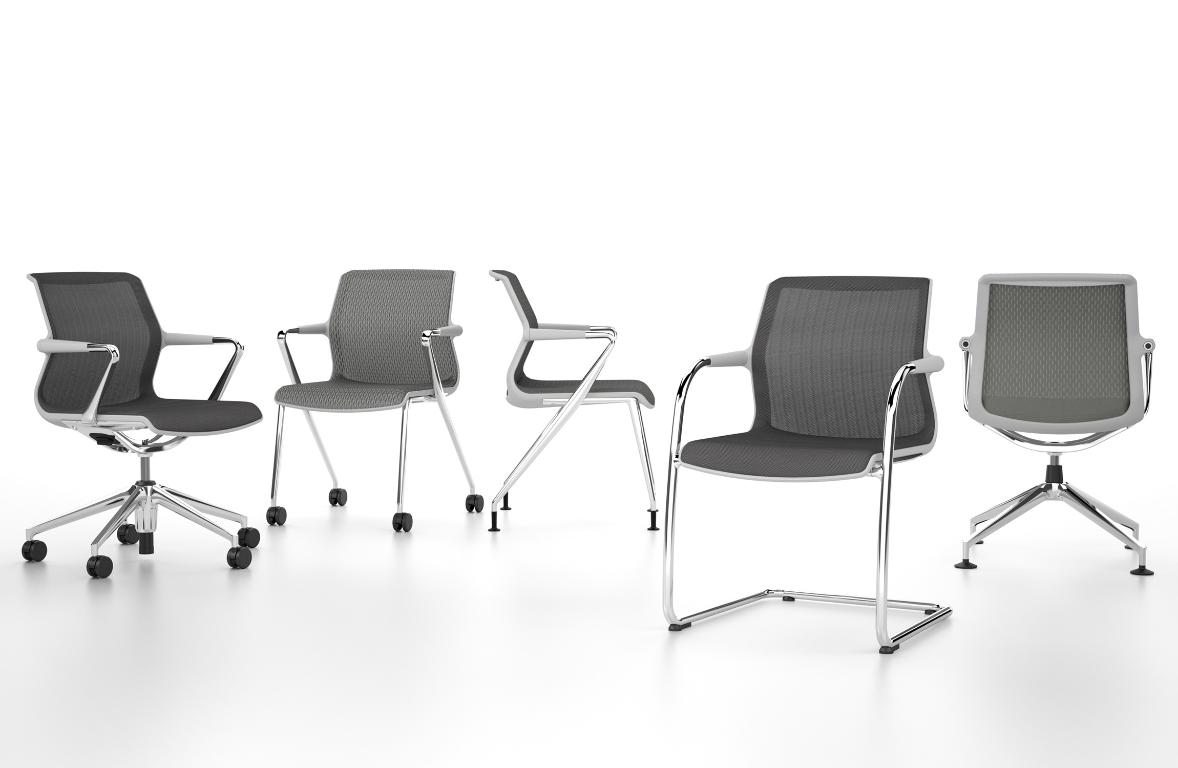 Vitra Unix Meeting Chairs
