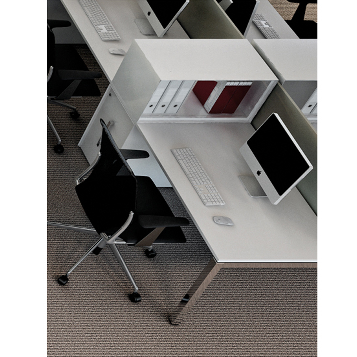 Vertical File Desktop Open Storage
