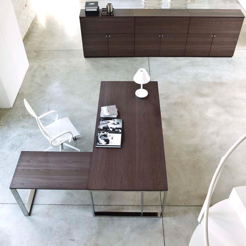 Velvet Manager Desk and Return