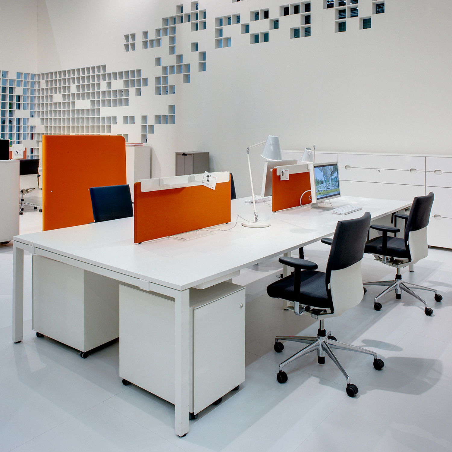 Workit Office Bench Desk | Vitra Workit Bench Desks ...
