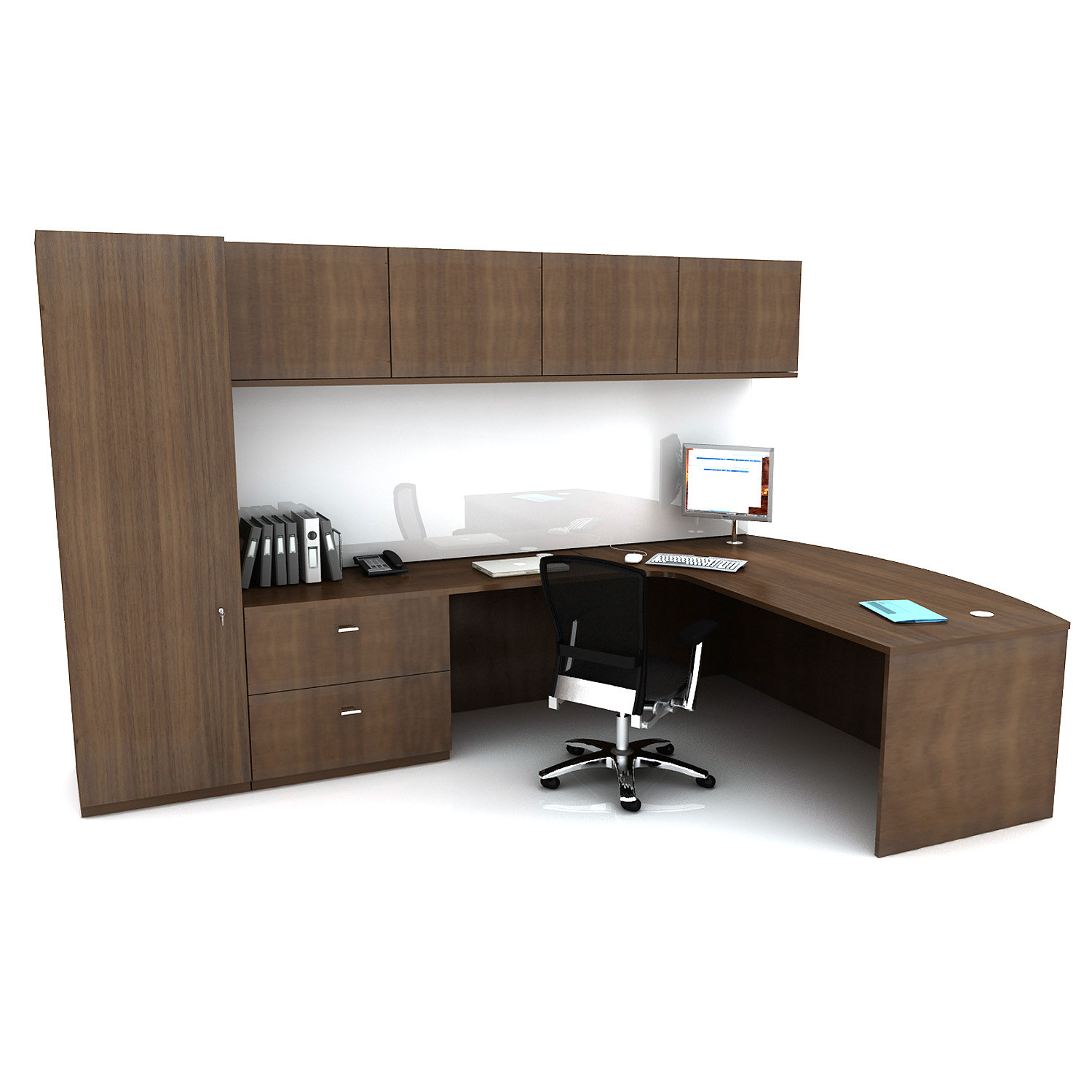Custom Workwall Desks