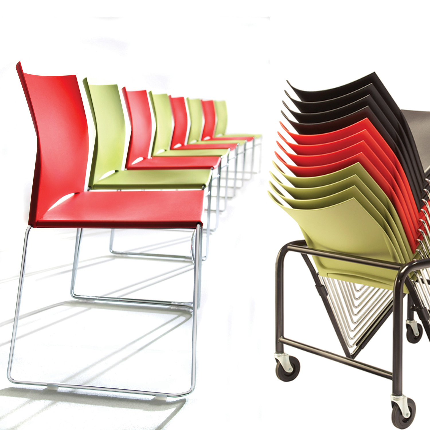 Xpresso One Stacking Chairs