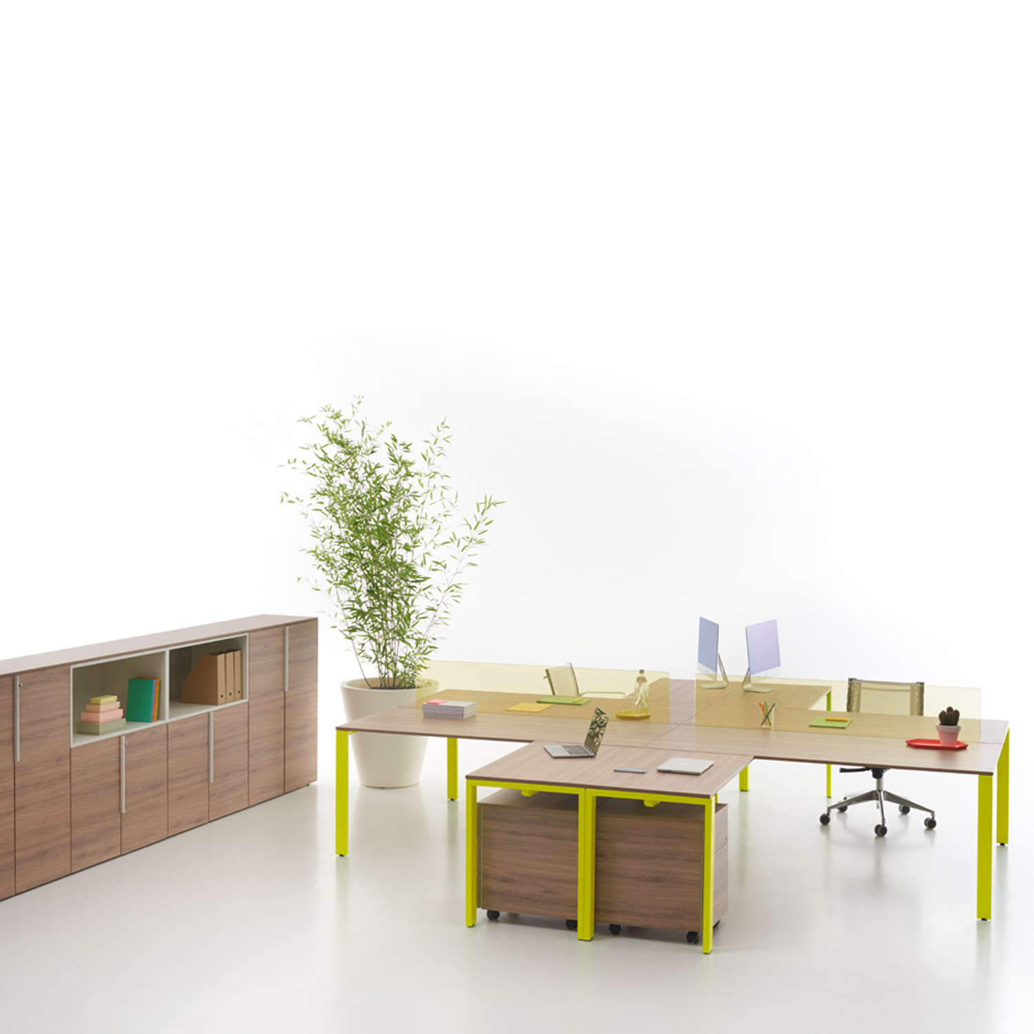 you eco office bench desks you eco desking apres furniture