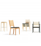 1500 Luca Chair Series, stackling option available