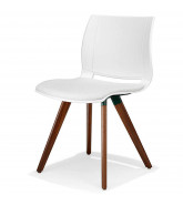 2080 Uni_Verso Cafe Chair with padded seat