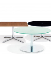 8200 Volpe Table Series come in a variety of finishing options