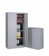A Series Two Door Cupboards by Bisley