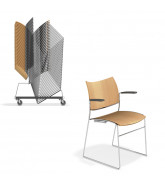 Curvy Stacking Chairs