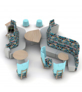 Away from the Desk Modular Seating