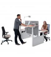 Balance Height Adjustable Bench Desk