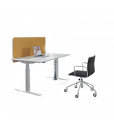 Balance Height Adjustable Single Desk