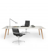 Bevel Office Desk by Norbert Geelen