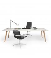 Bevel Office Desk by Norbert Geelen
