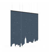 BuzziFalls Ceiling Room Dividers