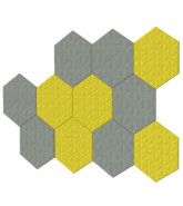 BuzziTile 3D Acoustic Wall Panels