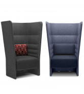 Cell 128 High Back Armchairs