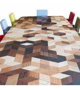 Custom Marquetry Tables