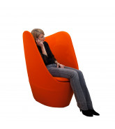 Dixi High Back Privacy Chair