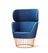 Dixi Club High Back Armchair
