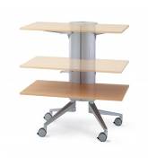 Flex Lectern Media Trolley