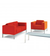 HM25 Sofa + Armchair + Low Table