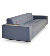 HM46 Reception Sofa fitted with power data
