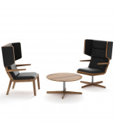 Jentle Lounge Chairs and Jentle Coffee Table