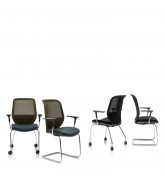 Joy Mesh Visitor Chairs