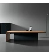 Kyo Olmo Executive Desk by Apres