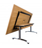 Crome Folding Table
