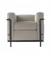 LC2 Armchair by Cassina Front
