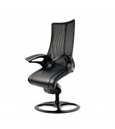 Leopard Mesh Office Chair