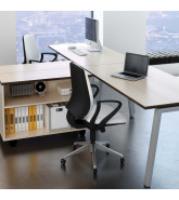 Linnea Single Bench Desks by Elite