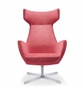 Mae High Back Swivel Armchair
