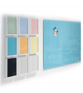 MagVision Multi-Coloured Glass Writing Boards