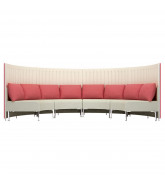 Muffle High Back Sofa