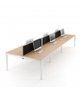 Relay Plus Bench Desking