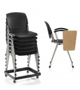 Series 8000 Chair Stackable with Tablet
