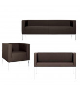 Square Sofa and Armchair