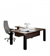Tao Executive Desk with Return