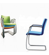 Team Cantilever Stacking Chairs