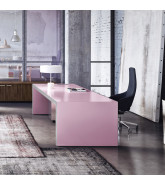Sinetica Vogue Executive Pink Office Desk