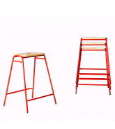 Working Girl Stacking Stools