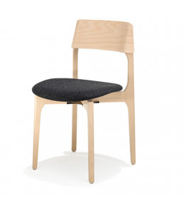 1010 Bina Chair with upholstered seat
